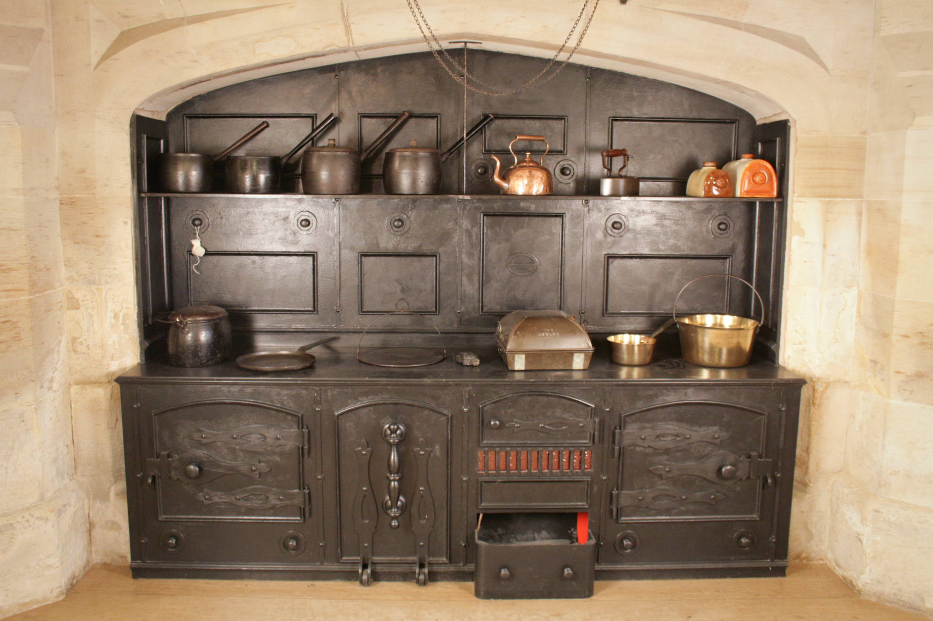 Victorian Kitchen Open Day