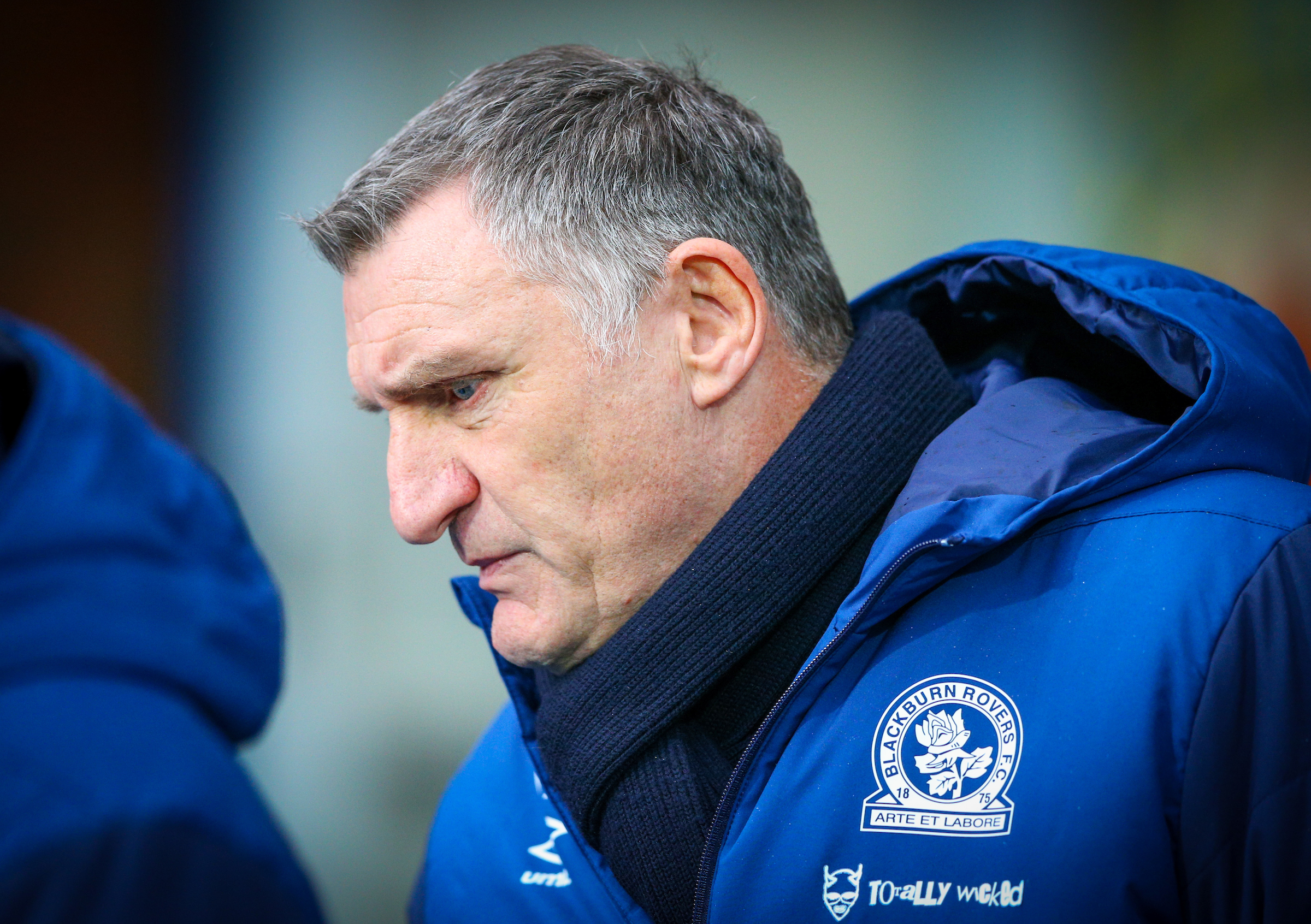 Tony Mowbray has clocked up 100 matches in charge of Rovers