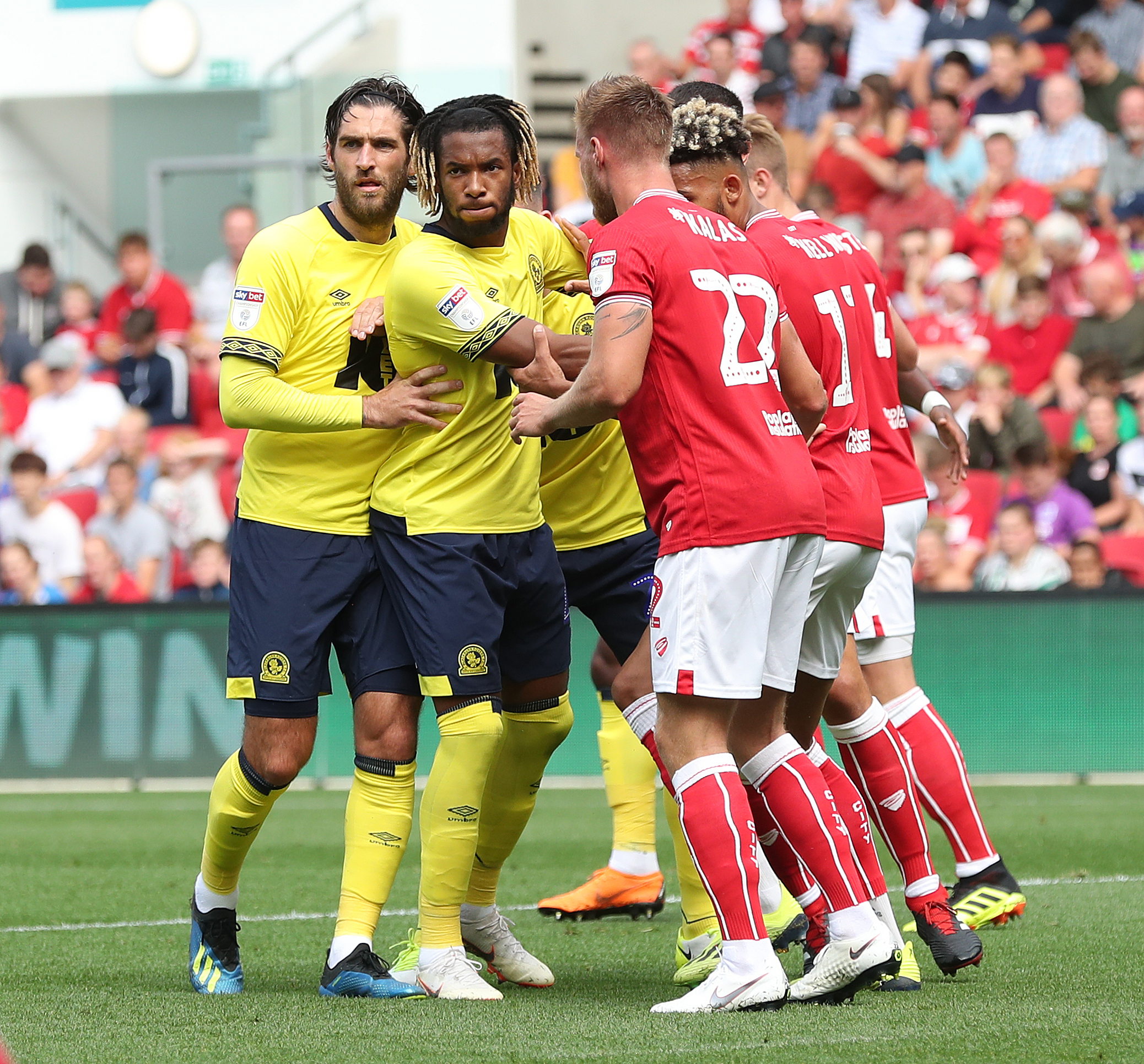 Kasey Palmer played for Rovers against Bristol City at Ashton Gate in September