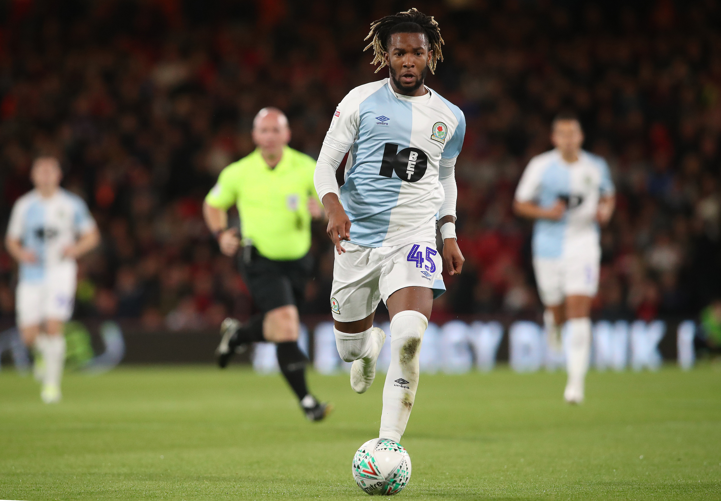 Kasey Palmer made 17 appearances for Rovers during his loan spell from Chelsea