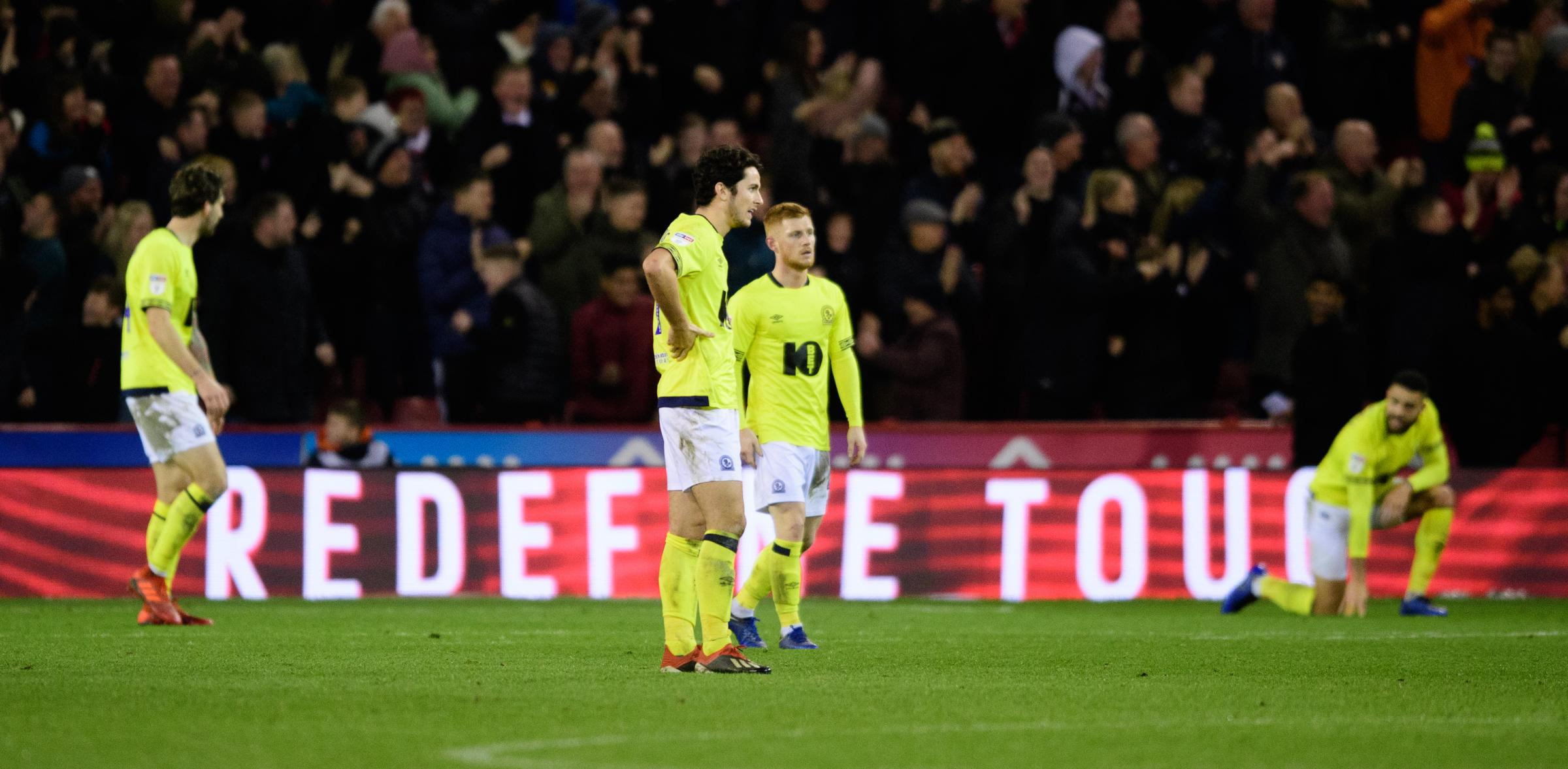 Rovers were beaten 3-0 at Sheffield United in their last away match