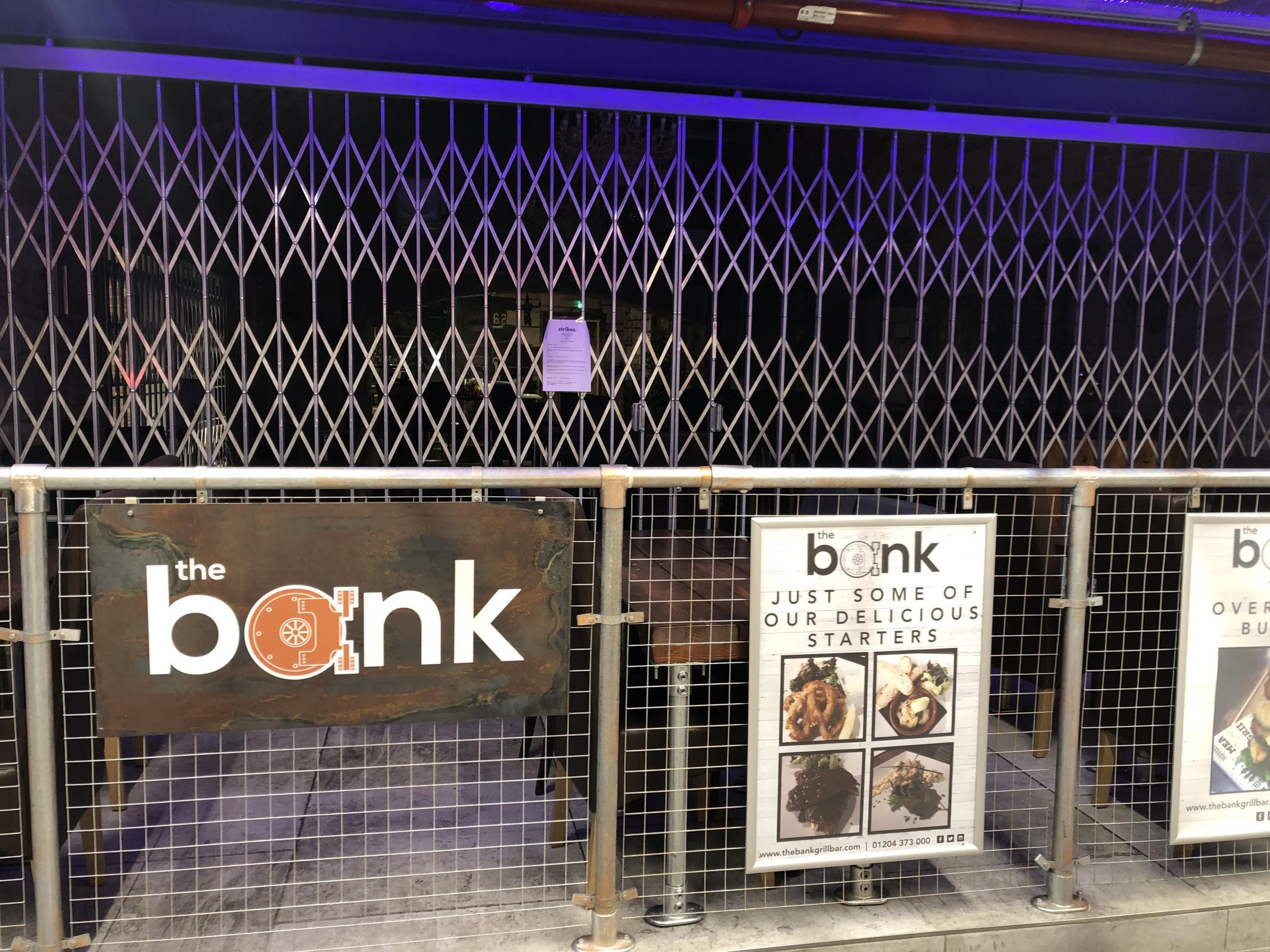 CLOSED: The Bank Restaurant, the Vaults