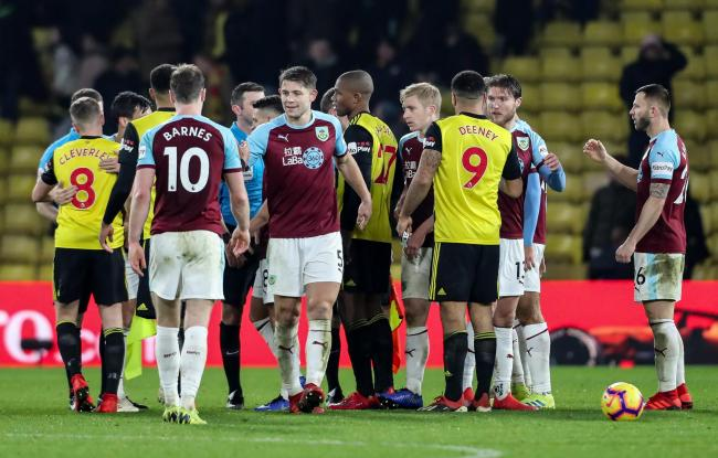 Burnley drew 0-0 at Watford on Saturday