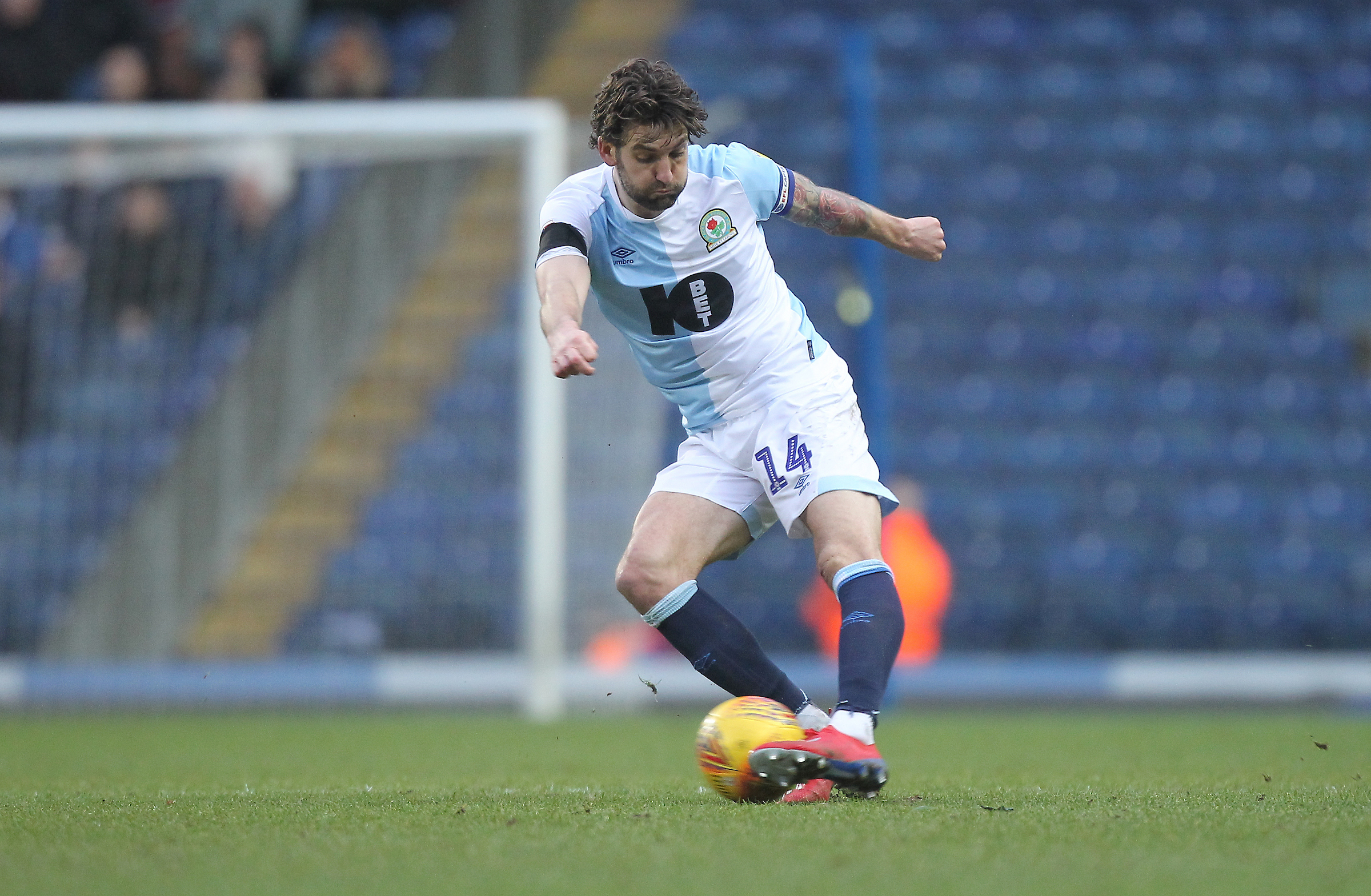 Rovers captain Charlie Mulgrew made his return in the defeat to Bristol City