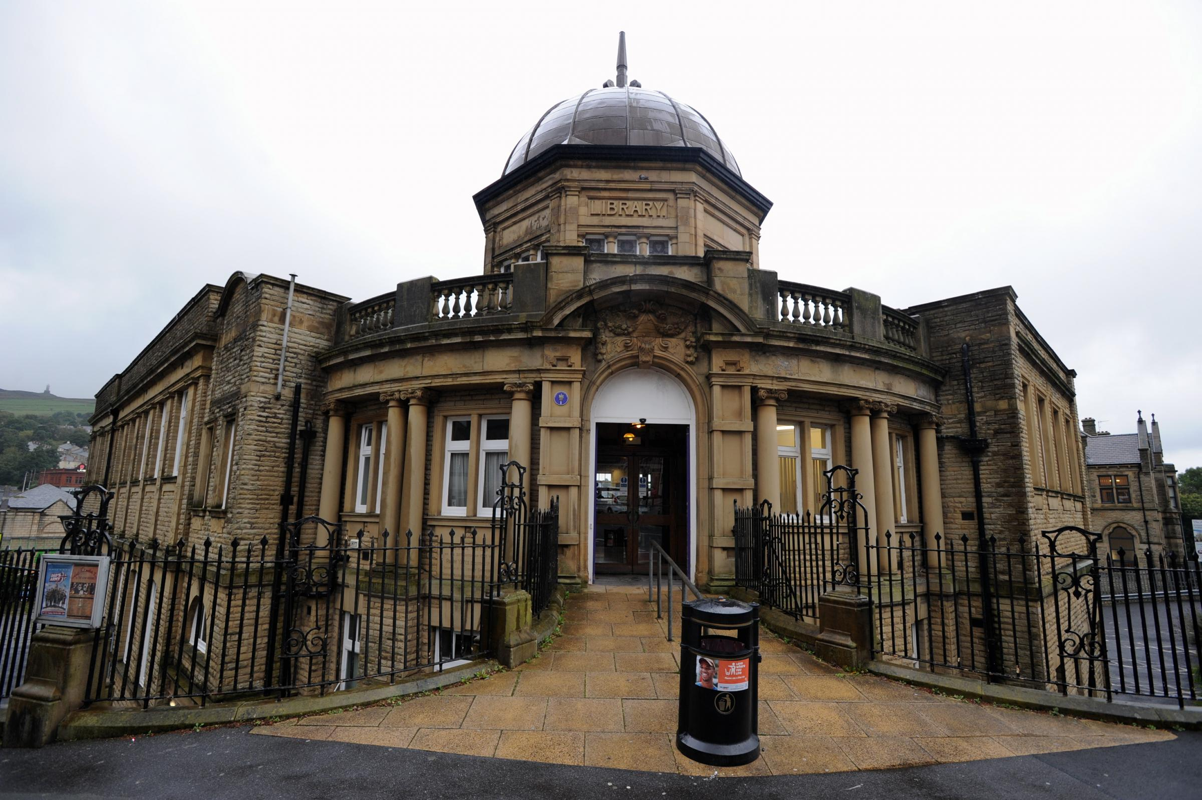 Darwen Library, Darwen. Picture by Paul Heyes, Monday September 26, 2016..