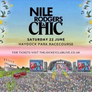 Nile Rodgers and CHIC at Haydock Park Racecourse