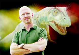 LIZARD KING: Scott Francis, director of Walking With Dinosaurs: The Arena Tour
