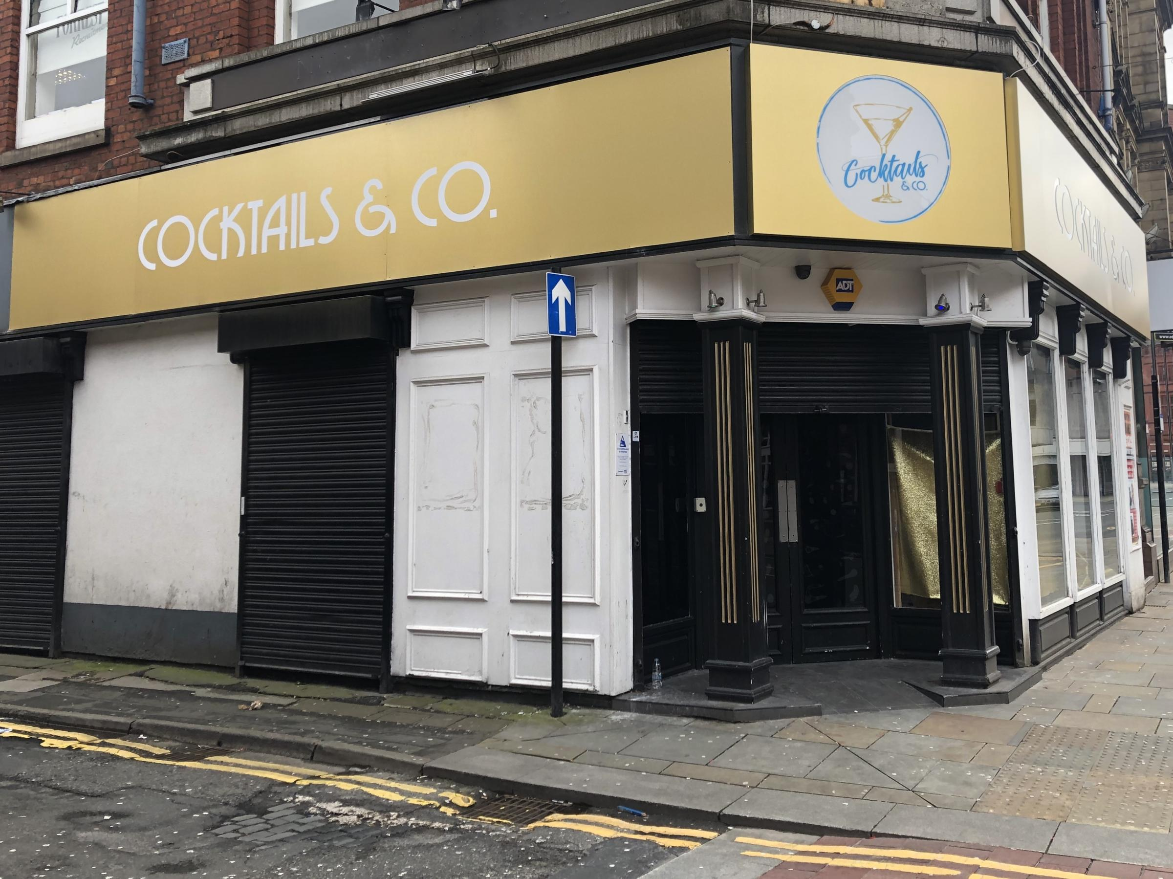 BRAND NEW: Cocktails & Co, which opens in Bradshawgate this weekend