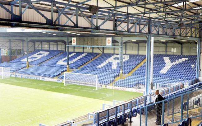 General view of Gigg Lane, home of Bury FC