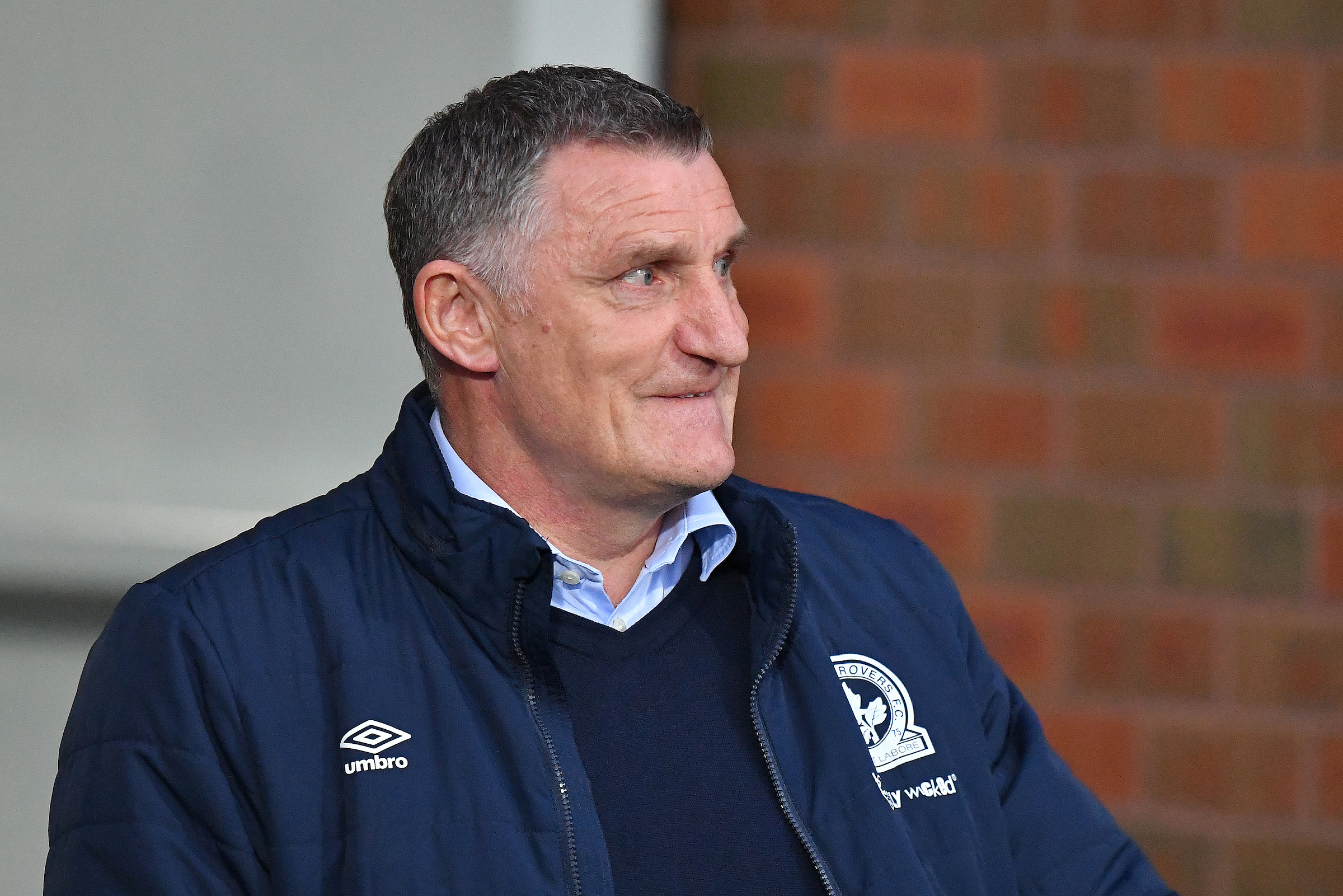 Rovers boss Tony Mowbray made five changes against Derby County