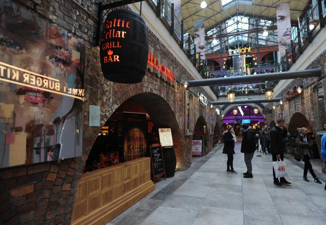 GONE: Baltic Cellar soon after it opened in The Market Place Vaults