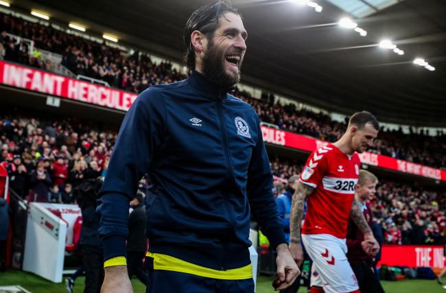 Danny Graham has rediscovered his love for football at Rovers