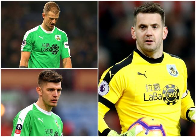 Tom Heaton, Joe Hart and Nick Pope have all had spells as Burnley's No.1