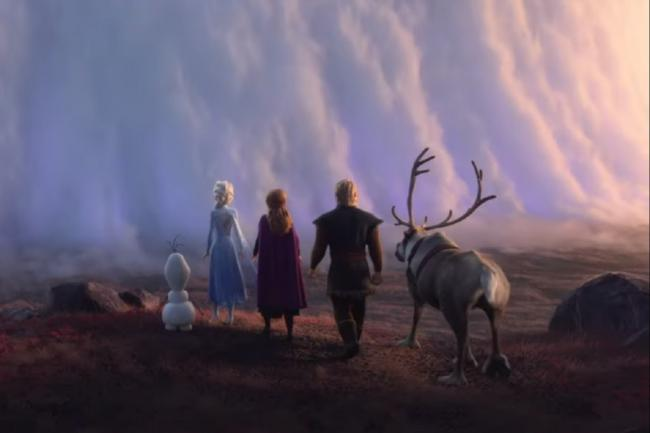 Shot from Frozen 2