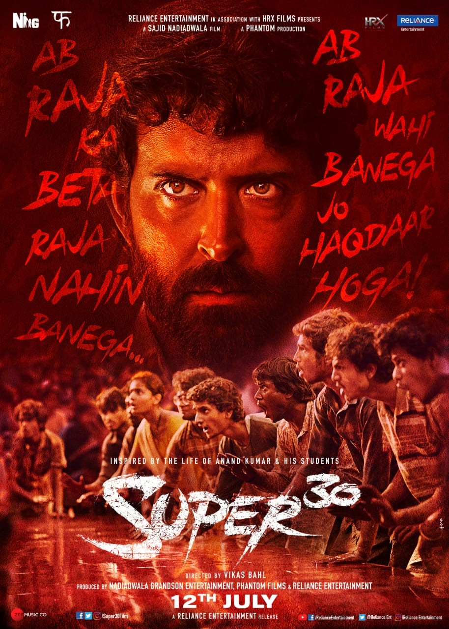 Hrithik Roshan's SUPER 30 is Bringing on Screen the Untold Story of Indian