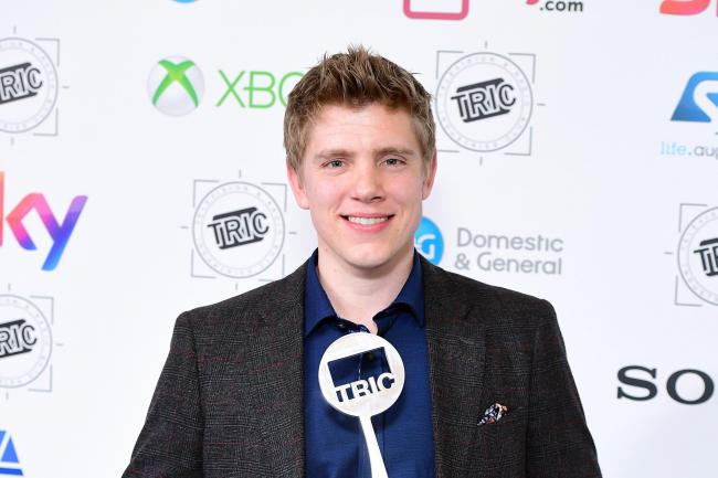Ryan Hawley at an awards show